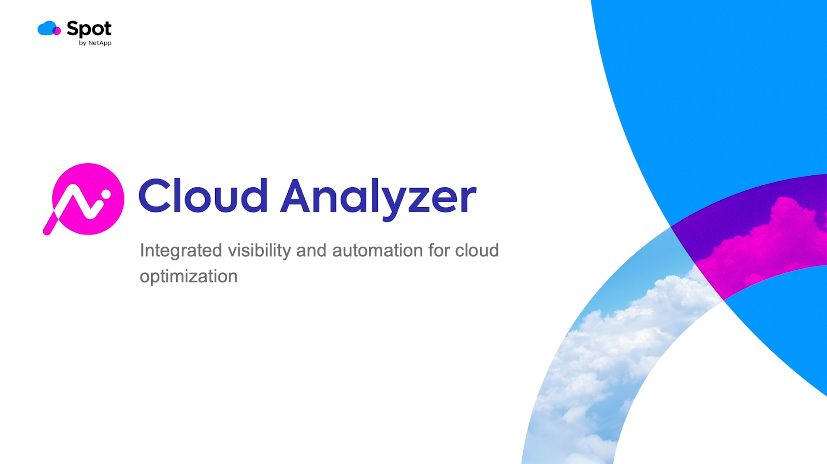 Cloud Analyzer demo video preview